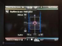 Équilibre du son / Atténuaton | Divertissement - MyFordTouch Ford Edge 2015