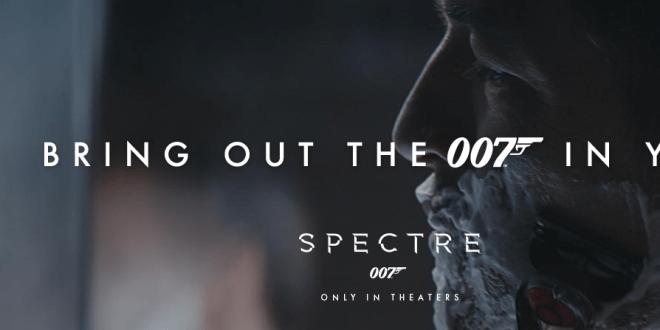 Moments Bond - Gillette & James Bond SPECTRE