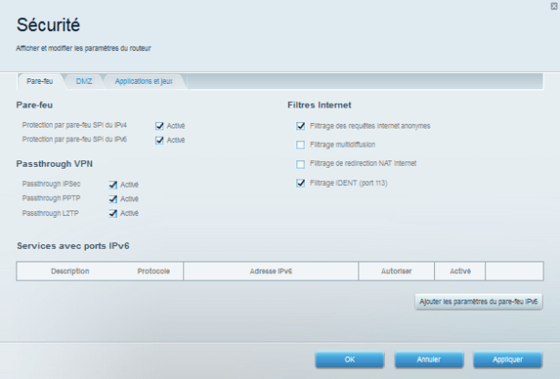 Linksys EA8500 - Interface 11