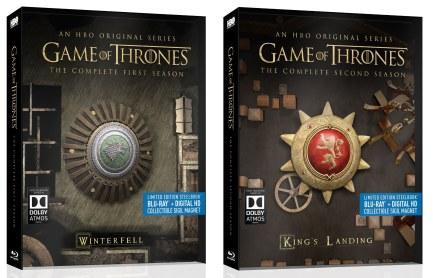 Game of Thrones SteelBook saisons 1 et 2 | Best Buy