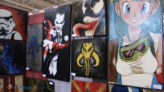 Fan Expo Toronto 2015 - Grendel Design
