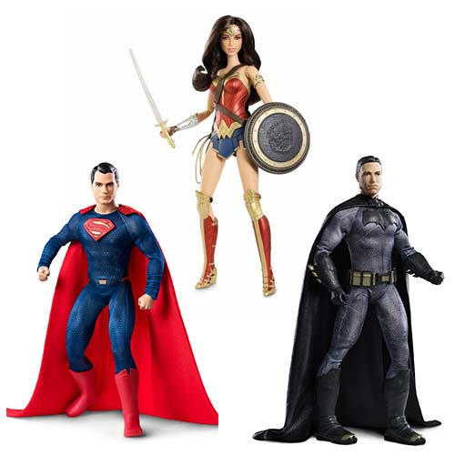 Barbie lance sa collection Batman v. Superman