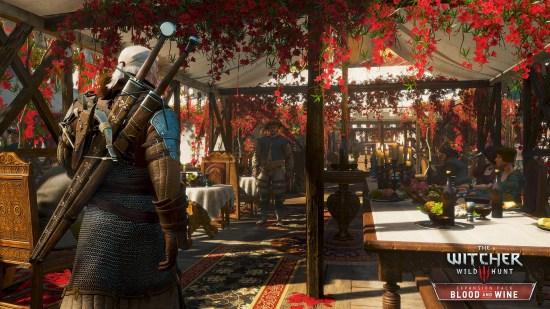 Geralt aura à visiter le fameux festival des vins de Toussaint au cours de ses aventures