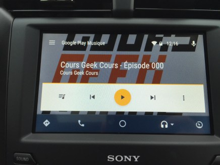 Google Play Musique - Android Auto