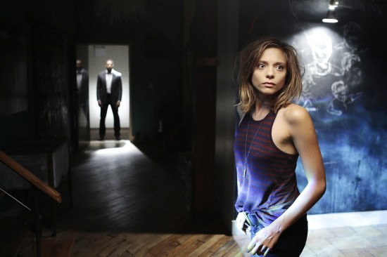 "FALLING WATER - ""Pilot"" Episode 101 -- Pictured: Lizzie Brochere as Tess - (Photo by: Giovanni Rufino/USA Network)"