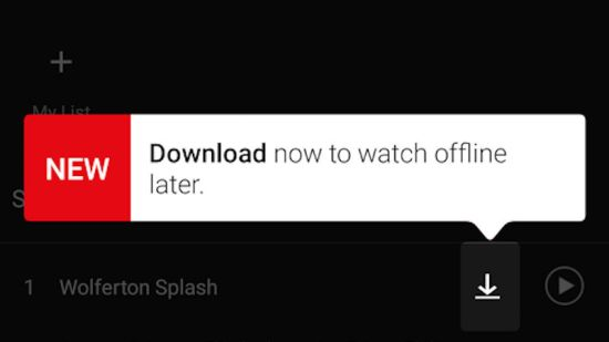 Netflix en mode hors-ligne - Le bonheur sur la route!