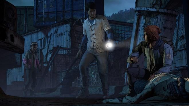 Les environnements sont souvent glauques et effrayants dans The Walking Dead : A New Frontier