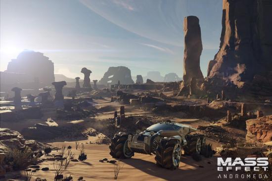 Mass Effect Andromeda promet un retour au mode exploratoire du premier titre de la franchise