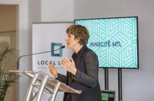 Béatrice Couture, Directrice Générale d'InnoCité MTL. Image: InnoCité MTL