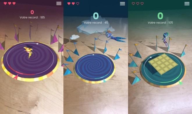 Applications mobiles de cirque 2017 - Loto Québec 3D