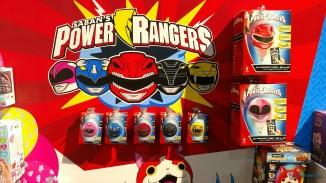 Les Power Rangers et leurs couleurs foudroyantes