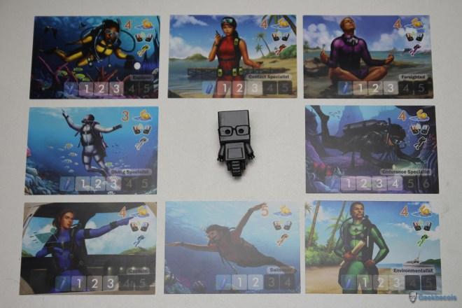 Les personnages de DiverCity