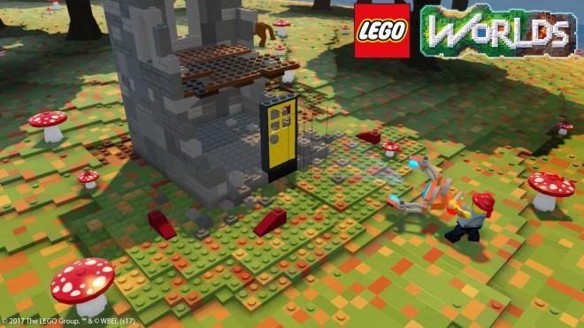Construire est facile dans LEGO Worlds et fera la joie des amateurs de longue date