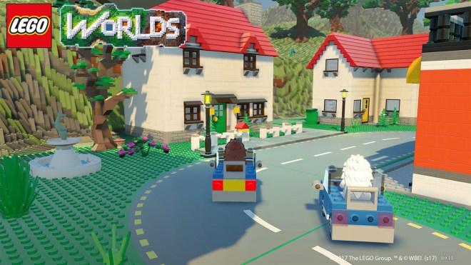 Sautez à bord d'un bolide et parcourrez vos créations dans LEGO Worlds