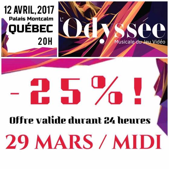 Promotion - L'Odyssé Musicale du Jeu Vidéo