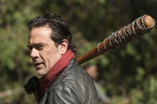 Negan (Jeffrey Dean Morgan)- The Walking Dead Saison 7 Épisode 16 - Photo: Gene Page/AMC