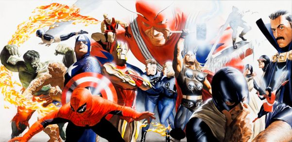Marvel Universe by Alex Ross