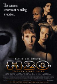 halloween h20 20 years later 1998 poster
