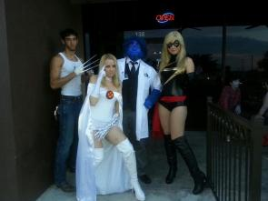 Emma Frost Cosplay 3