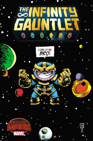 Infinity Gauntlet Vol 2 #1 Baby Variant
