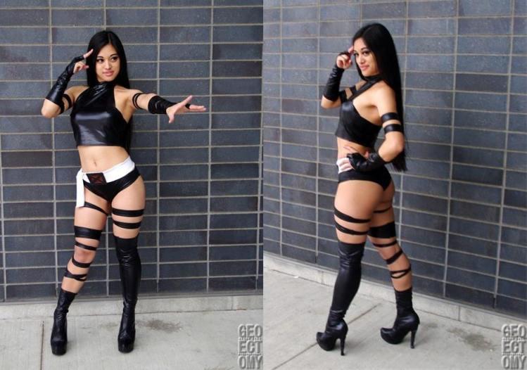 Psylocke Cosplay 32