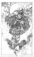 Ardian Syaf Pencils - Batman   Batgirl