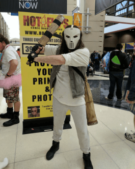 C2E2 2017 Cosplay - Casey Jones