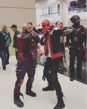 C2E2 2017 Cosplay - Deadshot | Red Hood