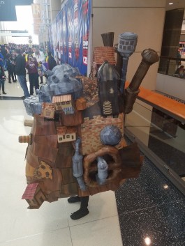 C2E2 2017 Cosplay - Howl's Moving Castle 2