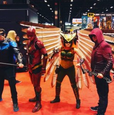 C2E2 2017 Cosplay - Nightwing | Flash | Hawkgirl | Arsenal