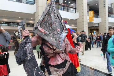 C2E2 2017 Cosplay - Pyramid Head 3