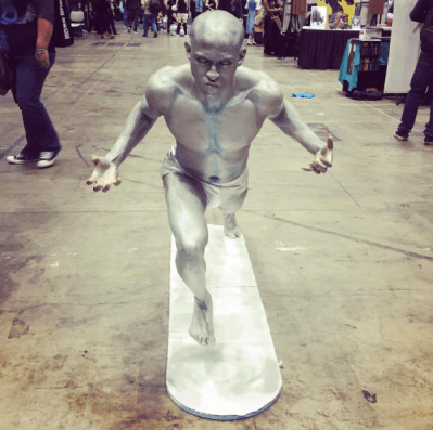 C2E2 2017 Cosplay - Silver Surfer 2