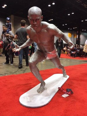 C2E2 2017 Cosplay - Silver Surfer