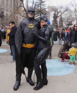 CalgaryExpo 2017 Cosplay - Batman | Catwoman