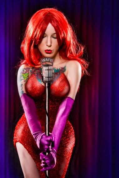 Jessica Rabbit Cosplay 16