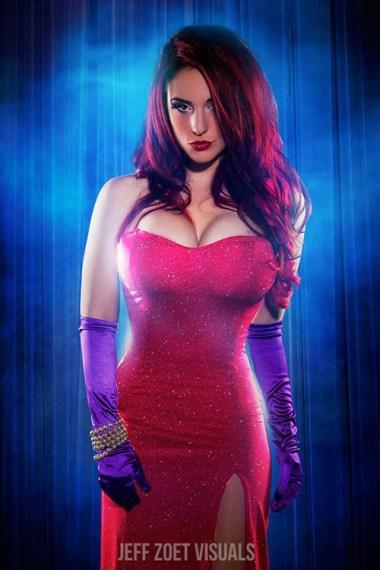Jessica Rabbit Cosplay 17