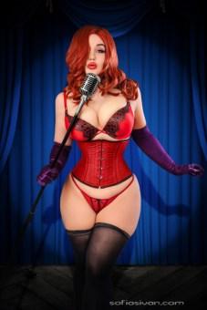 Jessica Rabbit Cosplay 24