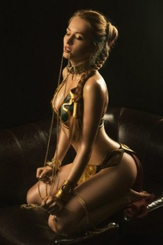 Slave Leia Cosplay 69