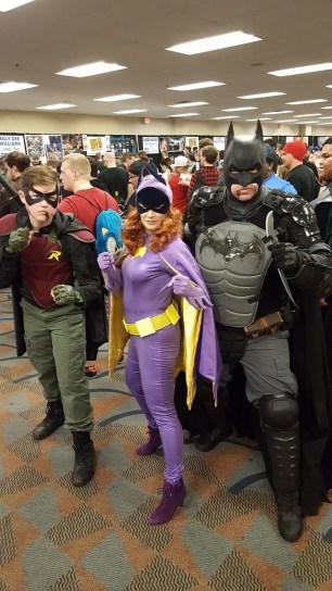 Steel City Con 2017 - Batman | Robin | Batgirl