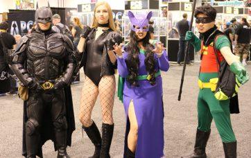 WonderCon 2017 Cosplay - Batman   Black Canary   Robin