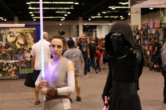 WonderCon 2017 Cosplay - Rey and Kylo