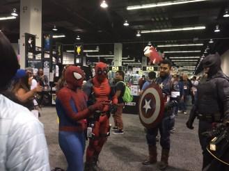 WonderCon 2017 Cosplay - Spider-Man   Deadpool   Captain America   Batman