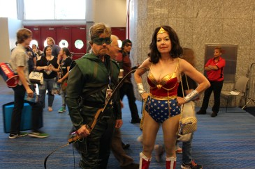 Comicpalooza 2017 - Green Arrow | Wonder Woman