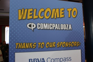 Comicpalooza 2017 - Welcome