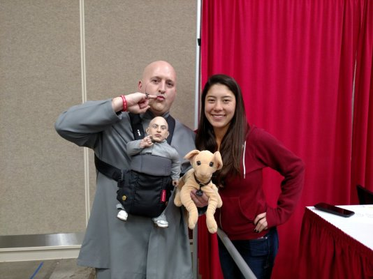 Wizard World Minneapolis 2017 Cosplay - Dr. Evil