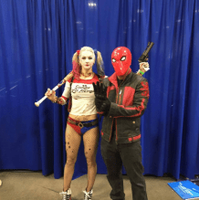 Wizard World Minneapolis 2017 - Harley Quinn | Red Hood