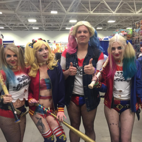 Wizard World Minneapolis 2017 - Harley Quinns 2