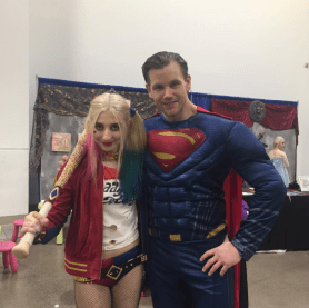 Wizard World Minneapolis 2017 - Hayley Quinn | Superman