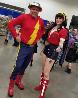 Wizard World Minneapolis 2017 - Jay Garrick | Bombshell Wonder Woman