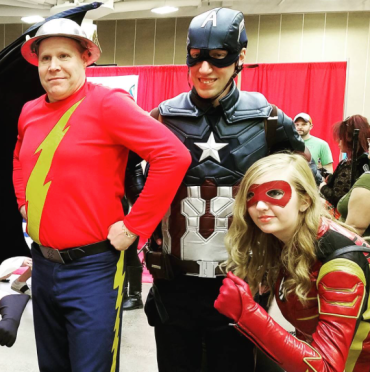 Wizard World Minneapolis 2017 - Jay Garrick | Caprtain America | Jessie Swift